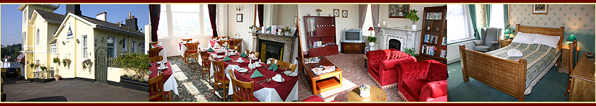 4 Star Ashwood Grange bed and breakfast in Torquay